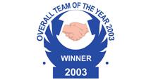 UK Award Team Winner 2003