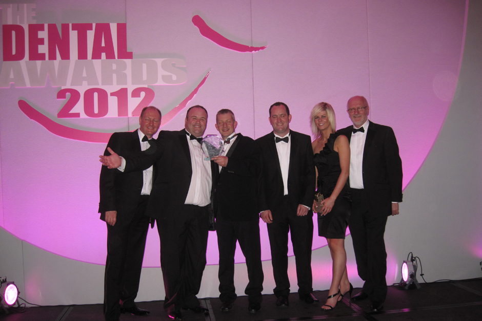 Staff Winning UK Dental Laboratory of the Year 2012