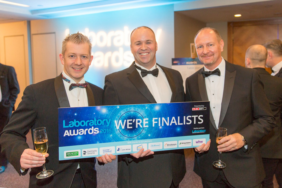 Finalists in the Dental Laboratory Awards 2016