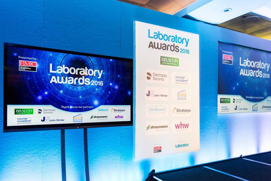 Dental Laboratory Awards held at the Royal Garden Hotel in London
