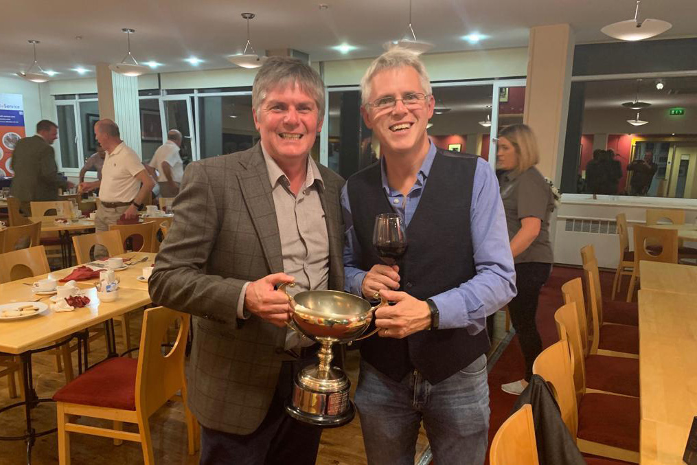 Dr. Raymond Duffin winner of the BDA Golf Cup 2019