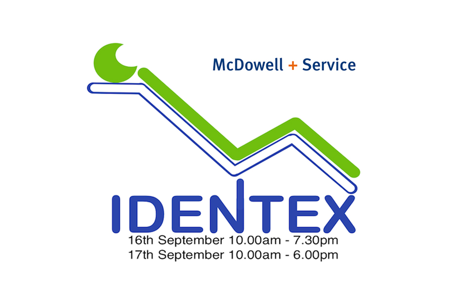 Identex 16&17th Sept 2016 stand 51 Citywest hotel Dublin.