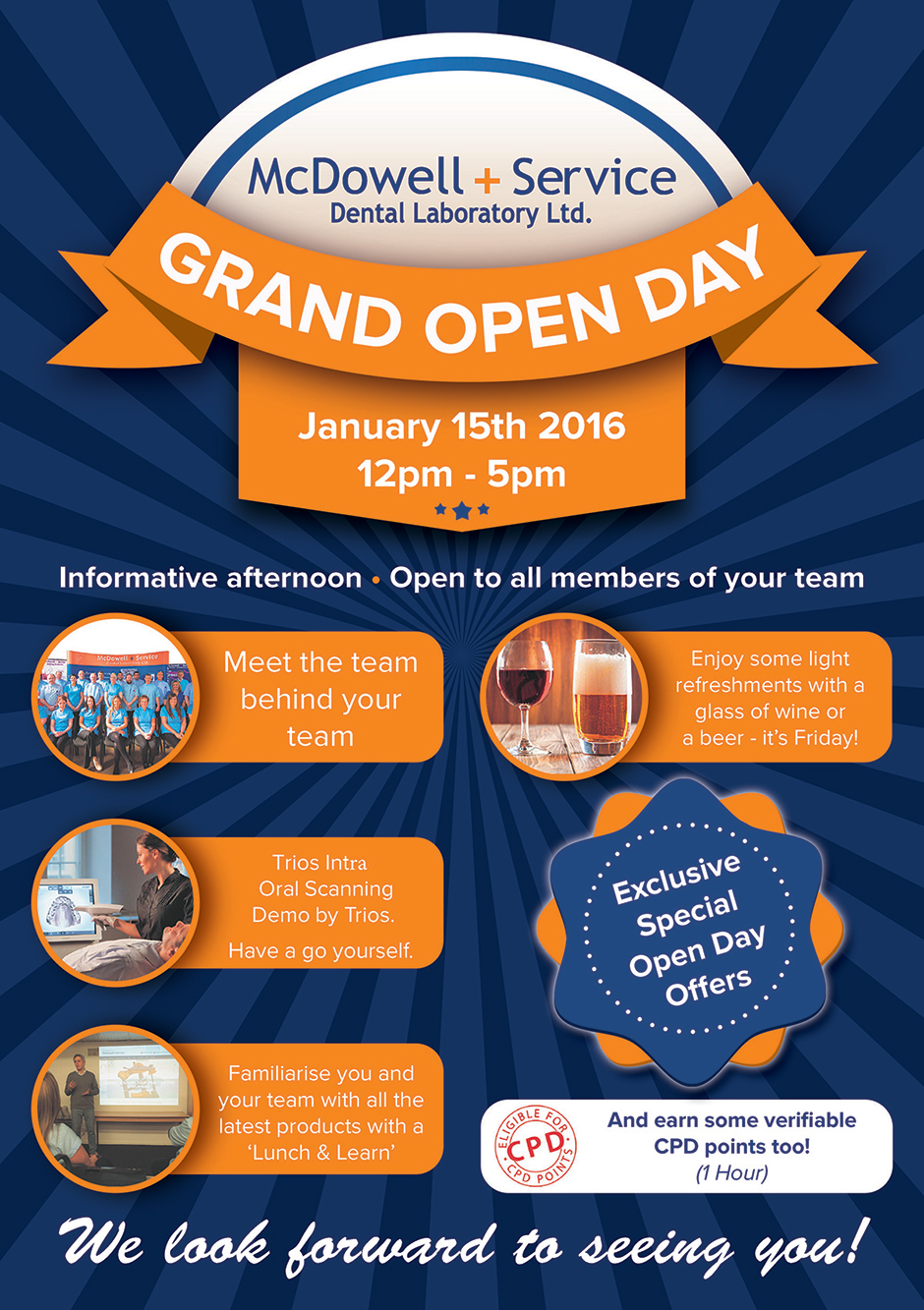 Dental Laboratory Open Day 15th January 2015
